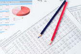 Finansiella dokument — Stockfoto