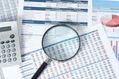 Financial documents — Stock Photo