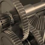 Metal gears — Stock Photo #43580265