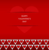 Valentines Day abstract vector background. — Vecteur