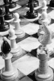 Artistic chess — Stock Photo