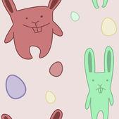 Funny Bunny light — ストックベクタ