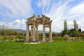 Aphrodisias City gate — 图库照片