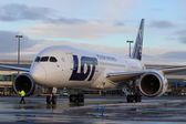 LOT Polish Airlines — Stock Photo