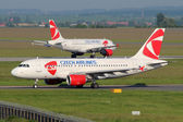 CSA Czech Airlines — Stock Photo