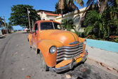 Old Cuban car — Stock Photo