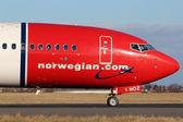 Norwegian Air Shuttle — Stock Photo