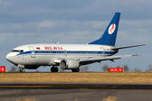 Belavia Belarusian Airlines — Stock Photo