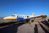 La compagnia aerea Aerocaribbean — Foto Stock
