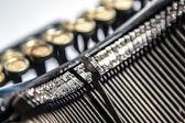 Close-up of old typewriter — Φωτογραφία Αρχείου