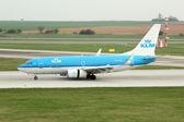 KLM - Royal Dutch Airlines — Foto de Stock