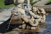 Detail of fountain — Stock Photo