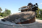 Auditorium swivel theatre — Stock Photo