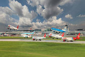 Prague Airport — Stock Photo