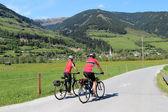Couple cyclisme — Photo