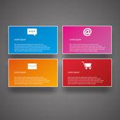 Zakelijke infographics — Stockvector