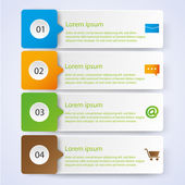 Business Infographic style Vector illustration — Cтоковый вектор
