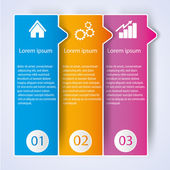 Business Infographic style Vector illustration — Stok Vektör