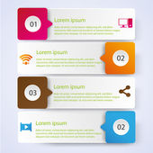 Business Infographic style Vector illustration — Stockvektor