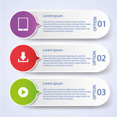 Business Infographic style Vector illustration — Vecteur