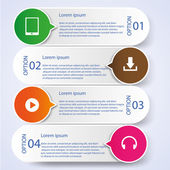Business Infographic style Vector illustration — 图库矢量图片