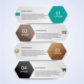 Business Infographic style Vector illustration — Vettoriale Stock