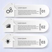 Business infographic stil vektor illustration — Stockvektor