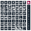 Transport icons — Stock Vector #39541789