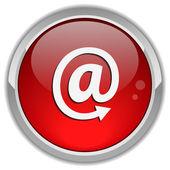 Button email sign — Vector de stock
