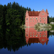 Castle Cervena Lhota South Bohemia Czech Republic — Stock Photo #39396519