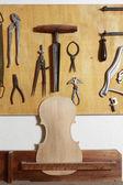 小提琴的身体 — 图库照片