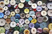 Colour buttons decoration — Stock Photo
