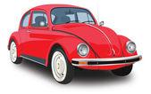 红色汽车 — 图库照片