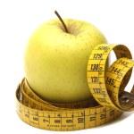 Manzana y dieta — Stock Photo #45515033