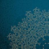 Blue vintage background — Stock Vector