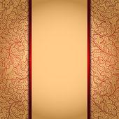 Elegant gold backgroundŒ — Stock Vector