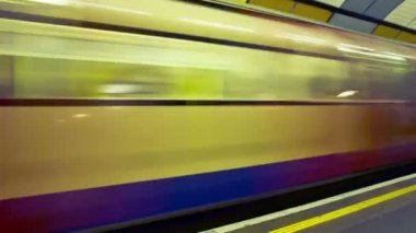 Commuting on London Transport — Stock Video