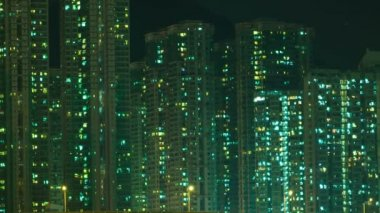 Hi-rise living apartments — Stock Video