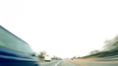 Wysokiej prędkości jazdy — Wideo stockowe