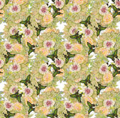 красочный цветочный фон — Стоковое фото