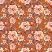 Wzór róże — Zdjęcie stockowe
