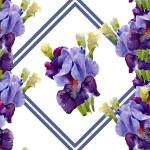 Irises pattern — Stock Photo #47234111