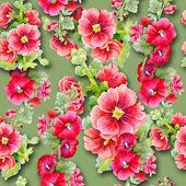 Mallows seamless pattern — Stock Photo