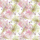 Fond de fleurs aquarelle — Photo