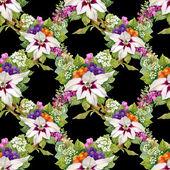 Цветочный узор — Стоковое фото