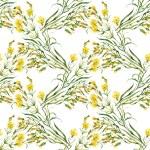 野生の花のパターン — ストック写真