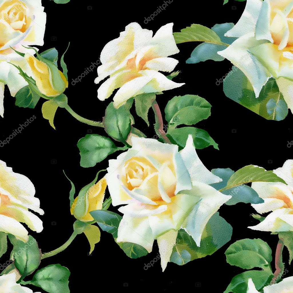 weisse rosen hintergrund stockfoto 51258339. Black Bedroom Furniture Sets. Home Design Ideas