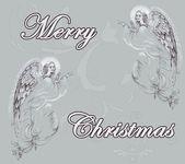 Engel Weihnachten Himmel — Stockfoto