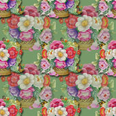 Floral pattern — 图库照片