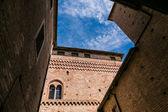 Castle Fossano, — Stok fotoğraf